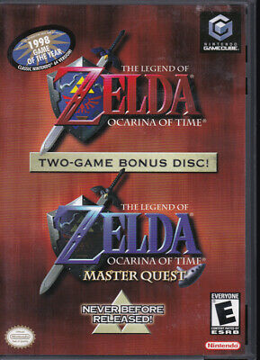 The Legend of Zelda: Ocarina of Time + Master Quest - Gamecube (2003) - Complete