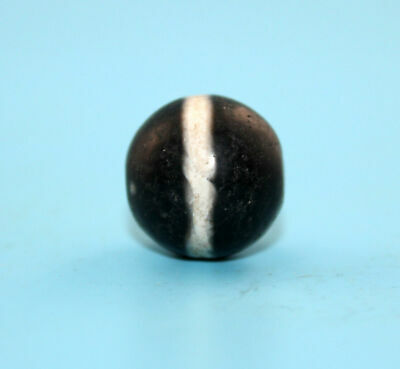 17*18 mm Antique Dzi Agate old Bead from Tibet **Free shipping**