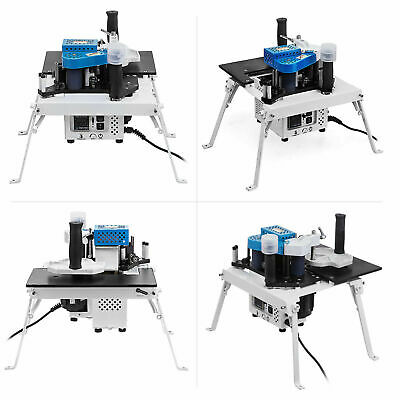 Woodworking Edge Banding Machine 2-6m/min 25W Motor 10-55mm Width Irregular