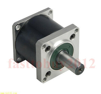 130mm Flange Gearbox Planetary Gear Head Geared Reducer 3/4/6/10/16/24/30/36:1