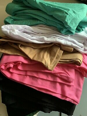 Bulk Lot Of 12 Leggings. Spandex.will Fit To Approx.Size 14.