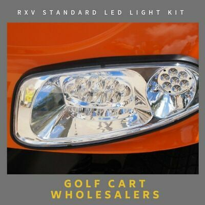Golf Cart Buggy Car Led Standard Light Kit To Suit Rxv Electric Or Petrol