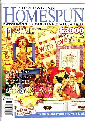 Australian Homespun Magazine - Issue No 22 - Volume 05 No 02 - 2004