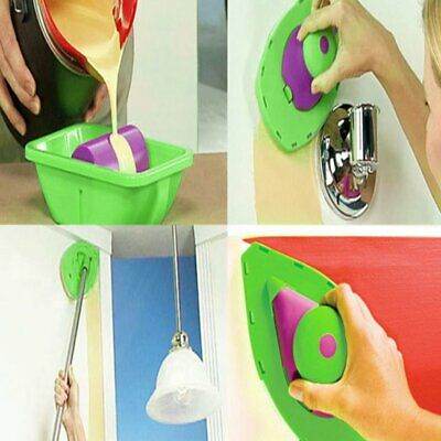 2pcs/pair Easy Painting Sponge Household Wall Painting Parts for Point & Paint♣♣