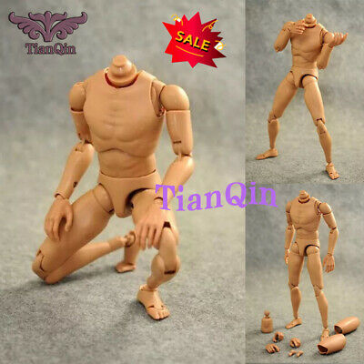 1/6 Scale Narrow Shoulder Male Figure Body For Hot Toys Accessories