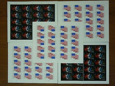 USPS First-Class FOREVER Stamp Hinged/Halved 100 Stamps Value $55 Free Shipping