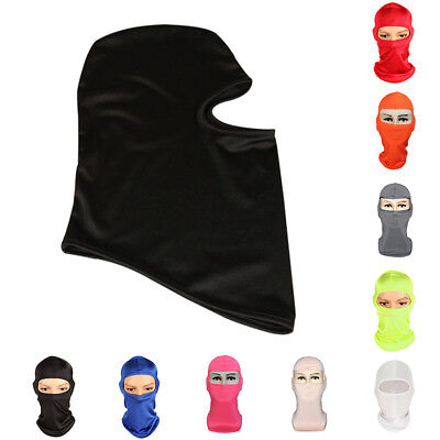Outdoor Ski Motorcycle Cycling Balaclava Lycra Full Face Mask Neck Headwear New