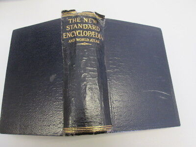 Acceptable - The New Standard Encyclopedia and World Atlas - Various 1932-01-01