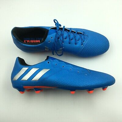 60cebb401 ADIDAS MENS BLUE Soccer Indoor Shoes 16.3 Messi Cleats 12 G8212786 ...