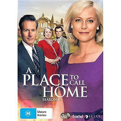 A Place To Call Home Season 6 Dvd, New & Sealed, 2019 Release, Free Post