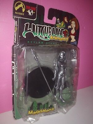 Palisades 2003 Witchblade Animated MAGDALENA Action Figure Alternate Metallic