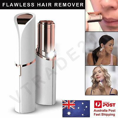 Genuine Finishing Touch Flawless Women Painless Hair Remover Face Facial Removal