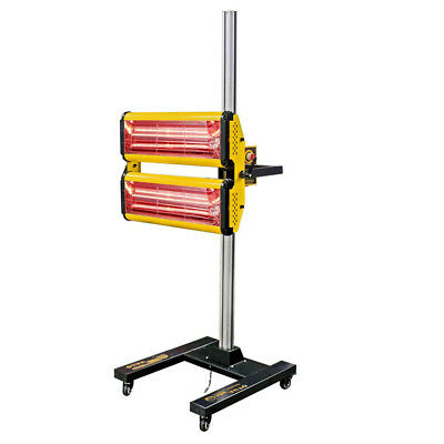 Curing Lamp Heating Light Spray Baking Paint Booths Infrared Paint Heater Stand