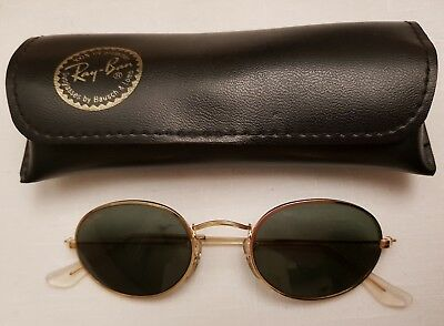 109516112 VINTAGE RAY BAN Oval Ireland Assembled Predator Wrap Sunglasses And ...