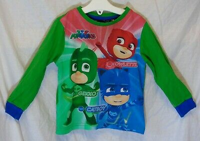 Baby Boys George Green PJ Masks Long Sleeve Pyjama Top Age 18-24 Months