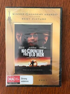 No Country For Old Men DVD New & Sealed Region 4