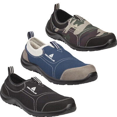 Ladies Lightweight Delta Plus Steel Toe Safety Shoes Womens Work Trainers Pumps