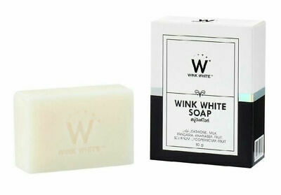 New Wink White Gluta Pure Soap Facial Body Whitening Beauty Skin Anti Aging