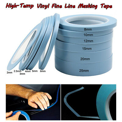High-Temp PVC Vinyl Fine Line Fineline Masking Tape For Car Paint Curves