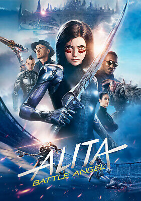 "ALITA BATTLE ANGEL 11""x17"" MOVIE POSTER PRINT #19"