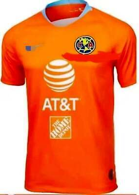 2ad0d95e7 ... 2018-2019 Club America Second Away Soccer Jersey sleeve T-shirt size S-