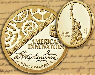 2018 S American Innovation $1 Proof Coin in Mint Box & C.O.A.