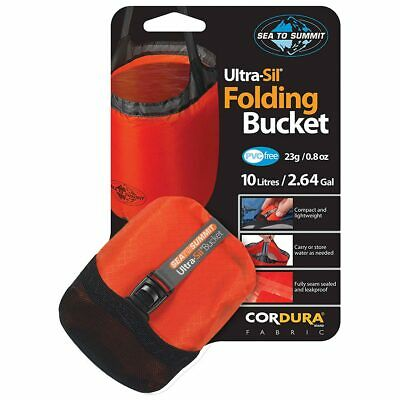 Sea To Summit Ultra-Sil Folding Bucket 10L - Orange