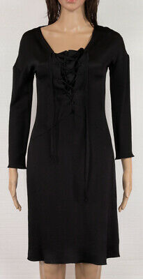 367a46eb26b TOM FORD FOR GUCCI MOST ICONIC BLACK SILK VINTAGE DRESS Size 40 ...