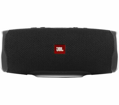JBL Charge 4 Portable Bluetooth Speaker - Black - Currys