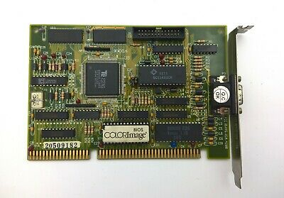 Scheda video graphic card VGA ColorImage Tseng Labs ET4000AX 1MB ISA 8bit 16bit