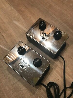 Pair Of 2 MCINTOSH MQ 102 ENVIRONMENTAL EQUALIZERS In Beautiful Shape!