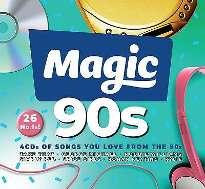 Various - The Magic 90s 4 CD ALBUM NEW (29th MAR)