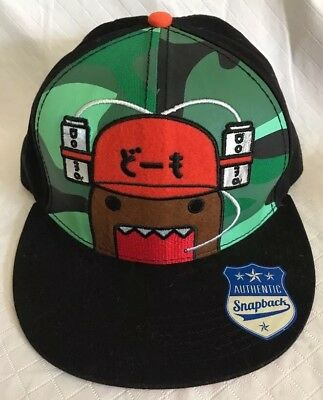 350bfd6e89179 DOMO FLATBILL SNAPBACK CAP HAT NEW Wearing Beer Can Hat Party One Size