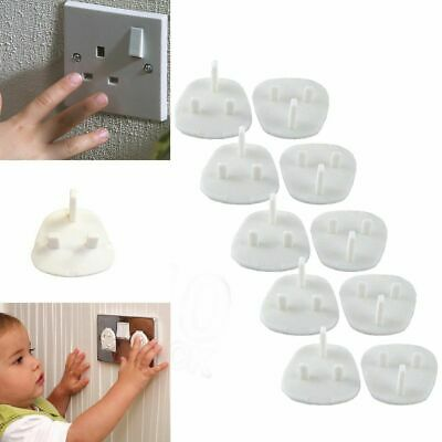 Baby Child Safety UK Plug Socket Covers Protector Guard Mains Electric Insert