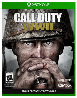 NEW - Call Of Duty: WWII / World War 2 - Zombie - XBOX One X - USA Version COD