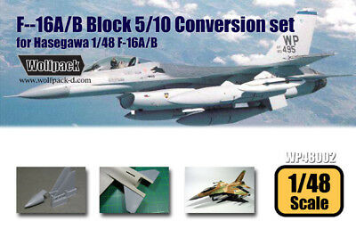 Wolfpack WP48002,F-16A/B Block 5/10 Conversion set (for Hasegawa 1/48,SCALE 1/48