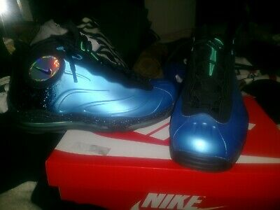 9d6bfab5a64ed VINTAGE NIKE TOTAL Air Foamposite Max Current Blue Black Men s Sz 9 ...