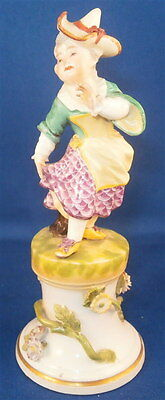 Antique 18thC Meissen Porcelain Lady Girl Figurine Porzellan Figure Figur 1750