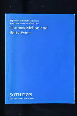 American Furniture Collection Thomas Mellon Betty Evans Sothebys Chippendale