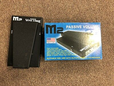 Morley M2 Passive Volume Effects Pedal with Box