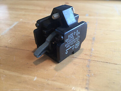 Allen Bradley 1495-F1 Auxiliary Contact Block 1495F1 Excellent Condition