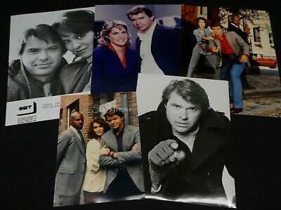 "5 x TV Press Kit Photos ~ 8x10 ""Spencer For Hire"" Robert Urich Avery Brooks ++"