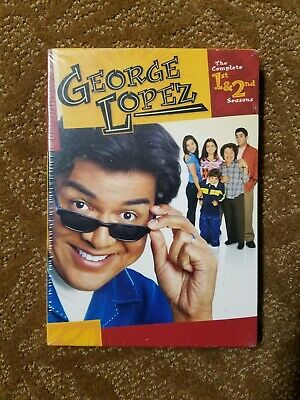George Lopez: The Complete First and Second Seasons (DVD 4-Disc Set) NEW SEALED