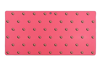"""Large Extended Gaming Computer Mouse Pad, Pink, 35.5"""" x 17"""" - Protective, Thick"""