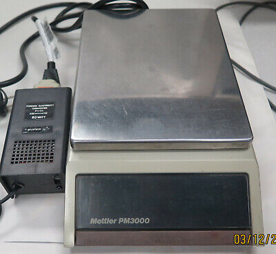 Mettler PM3000 Balance Scale Fully working with Power Supply