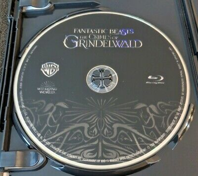 Fantastic Beasts: The Crimes of Grindelwald **Bluray Disk Only**