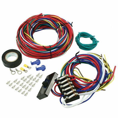 Empi 9466 VW Dune Buggy Sand Rail Baja Universal Wiring Harness With Fuse Box