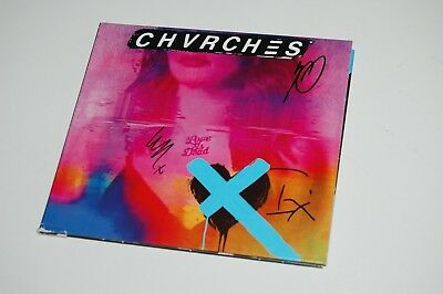 Chvrches - Love Is Dead (2018) SIGNED/AUTOGRAPHED CD