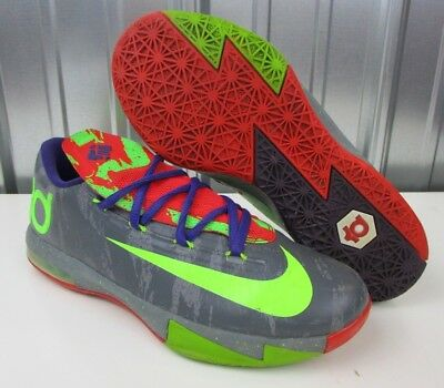 1012e5c32b6 NICE Nike KD VI 6 Energy Electric Nerf Low GS Basketball Shoes Youth size  5.5Y