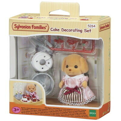 Sylvanian Families - Cake Decorating Set - 5264 - Authentic - New
